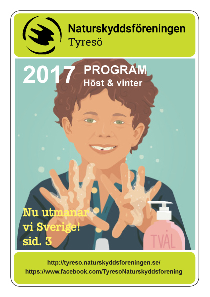Program för höst och vinter 2017