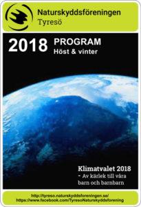 Program Höst och vinter 2018