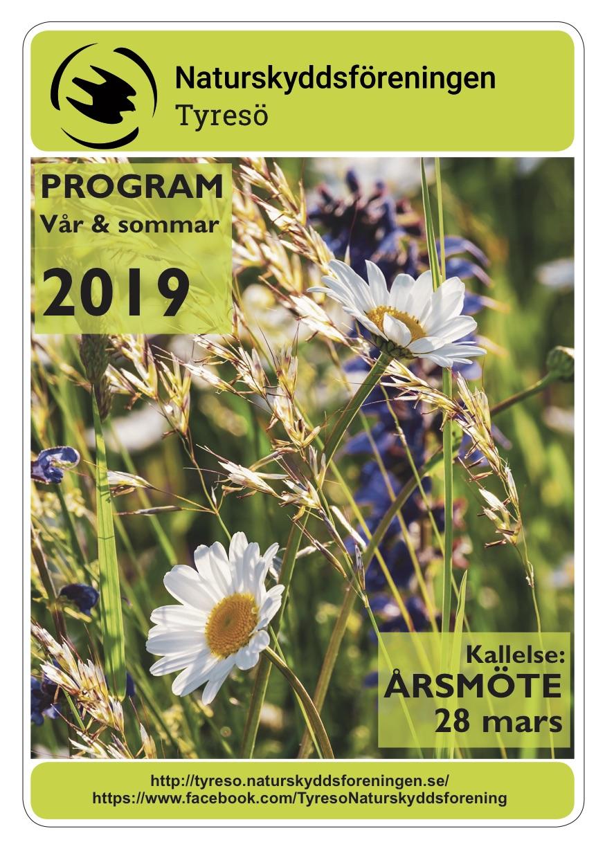 Program vår och sommar 2019