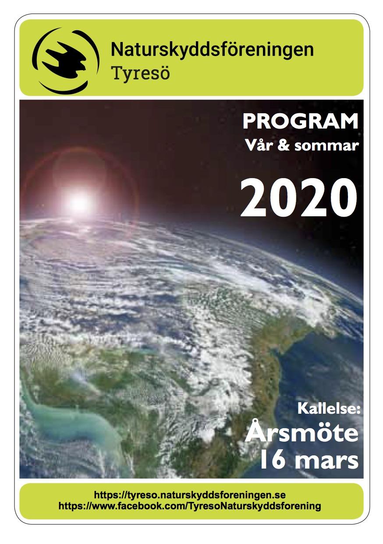 Program vår och sommar 2020